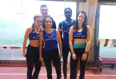 Championnats d'académie indoor à Dijon