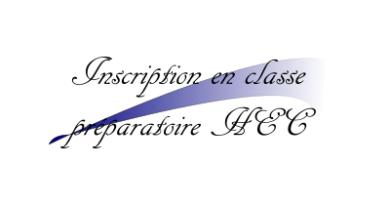 Dossier d'inscription en classe préparatoire HEC