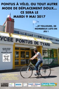 Pontus à vélo