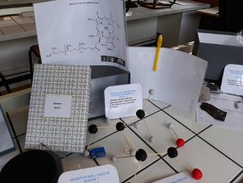 Mission 1 : retrouver les géo-molécules