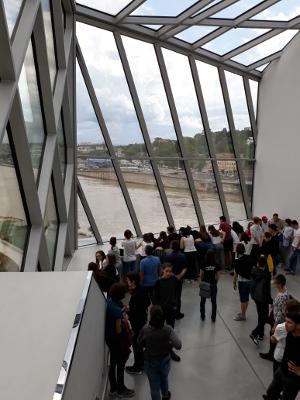 Visite du musée des Confluences