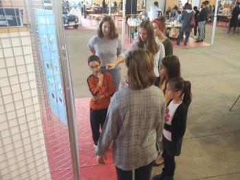 Les élèves du lycée Pontus de Tyard animent des ateliers pour les élèves des écoles primaires