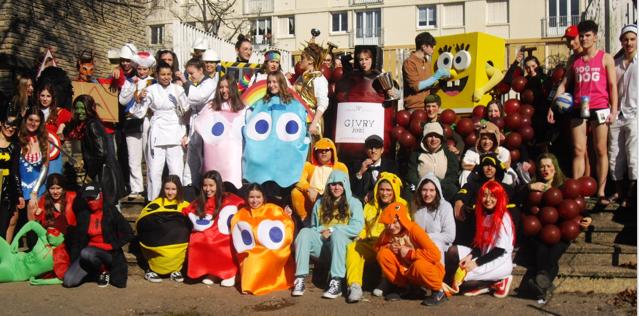 Les 100 jours du Bac : concours de déguisement2019
